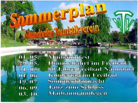 Sommerplan