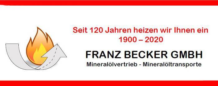 Heizöl Becker Banner