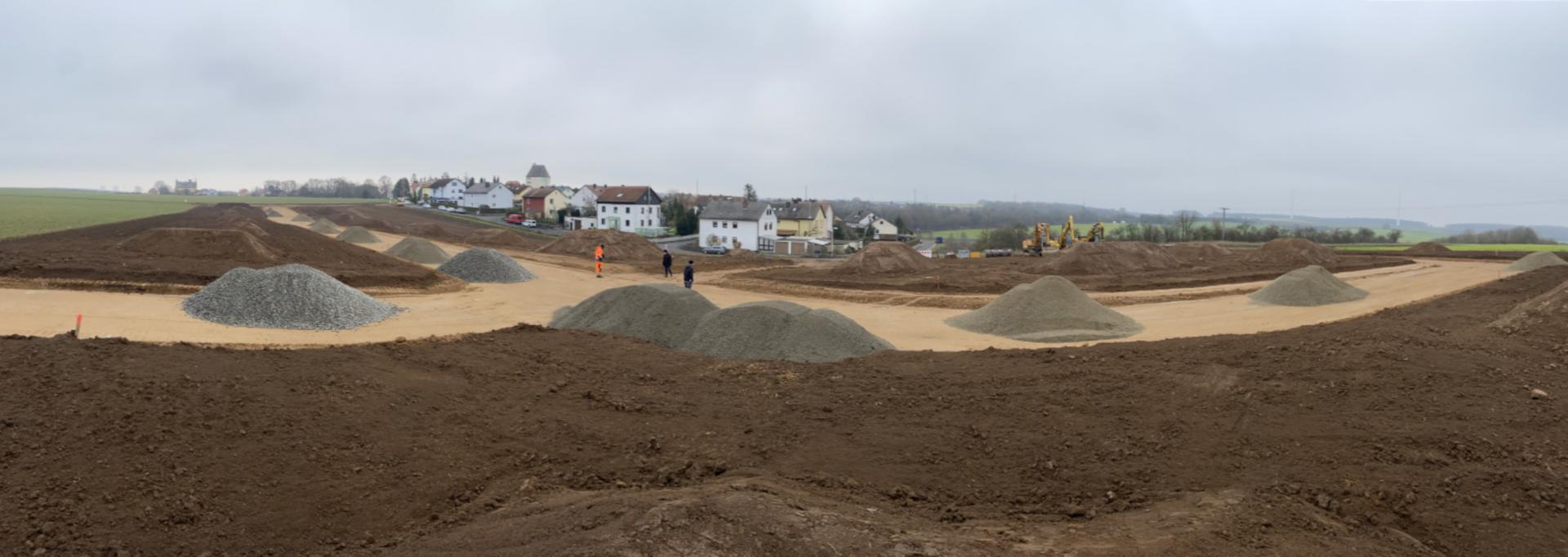 Panorama Baugebiet