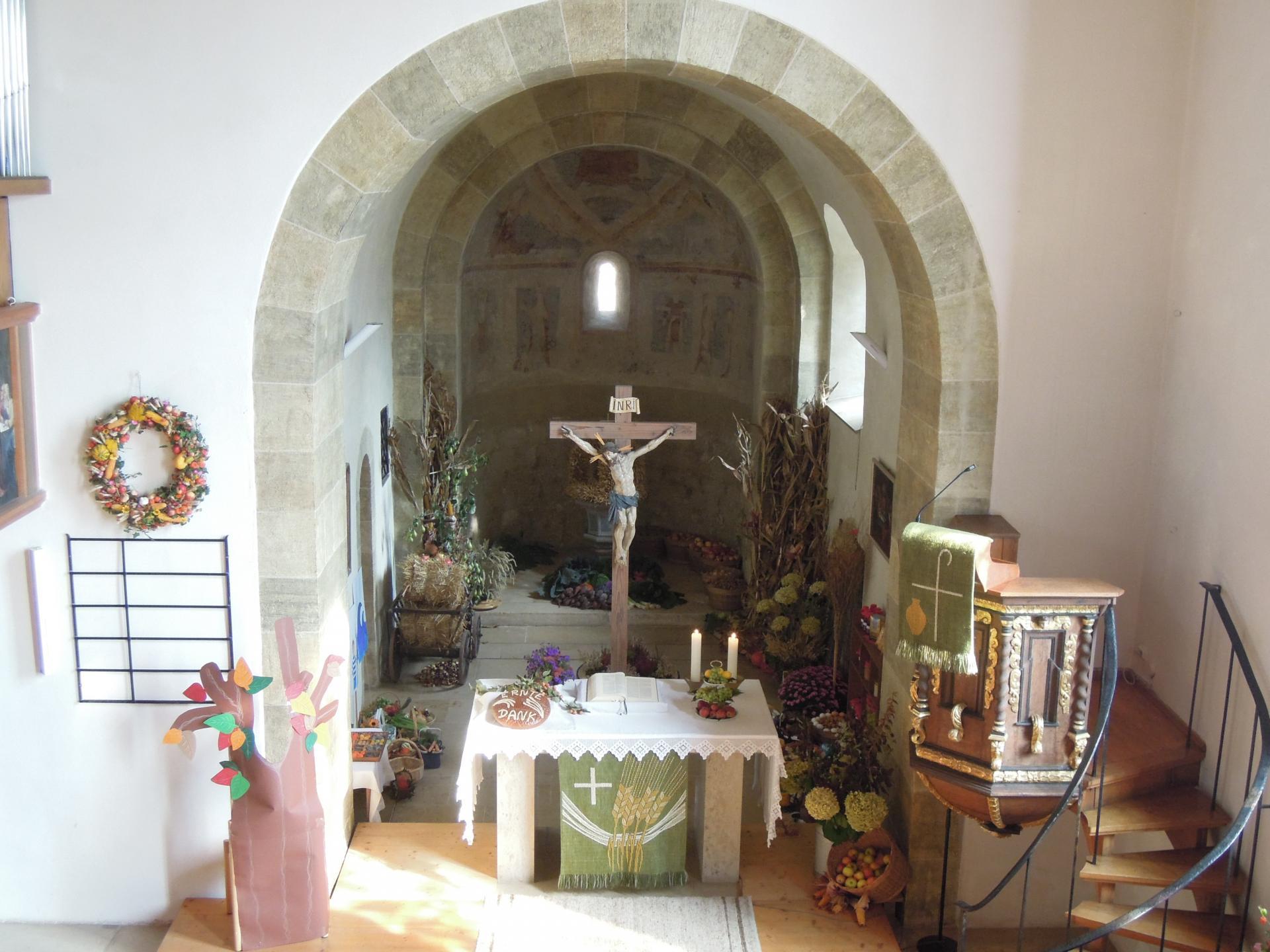 Pantaleonskirche Altar
