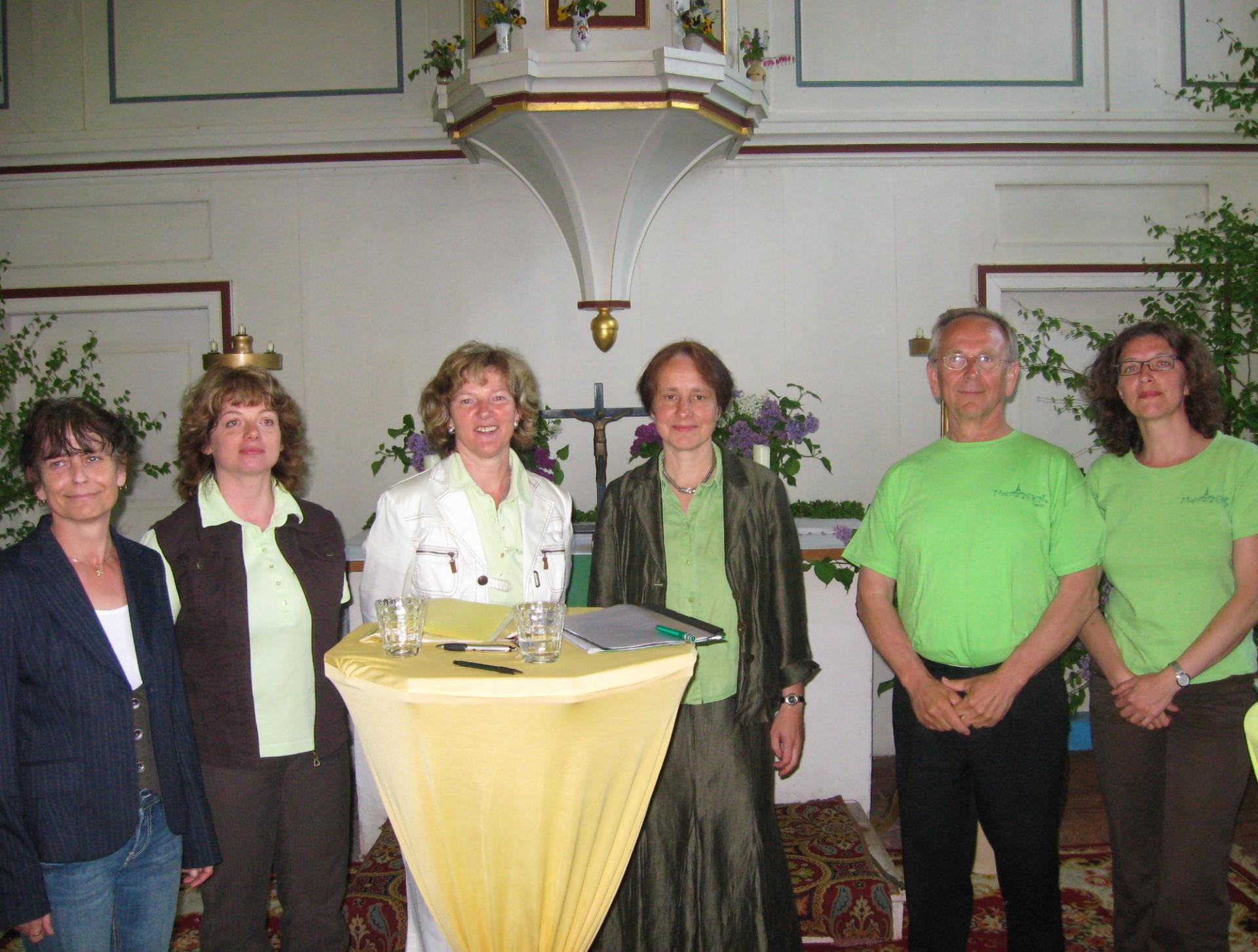 Buchlesung zu Garlitzer GeschichteN in der Kirche, 2011