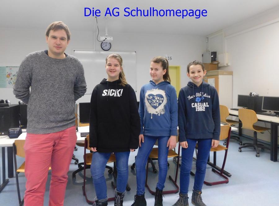 Die AG Schulhomepage
