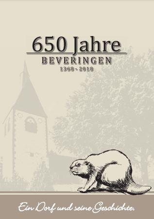 650 Jahre Beveringen - Deckblatt zur Festzeitung