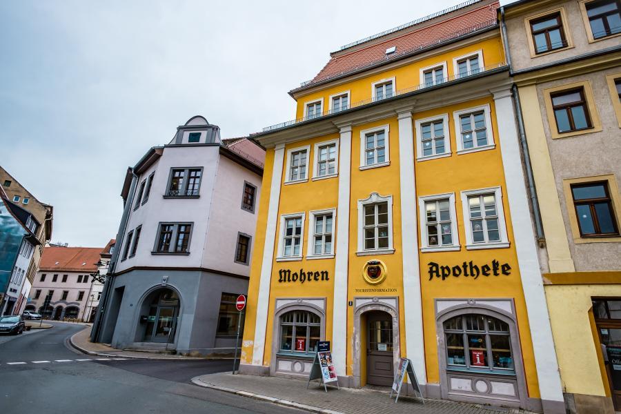 Außenansicht Touristinformation Weißenfels ©E.S.-Photographie