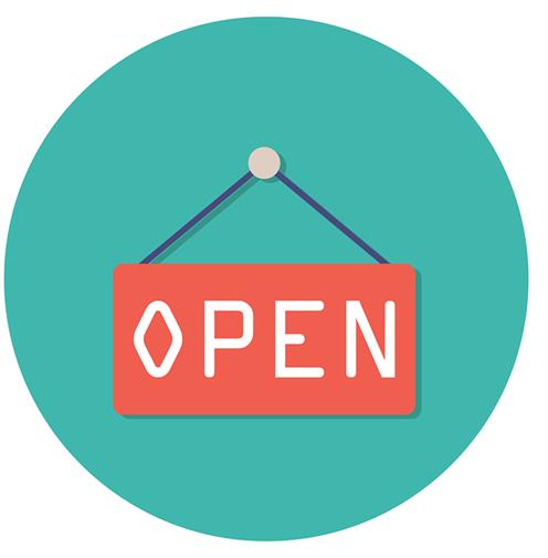 Geöffnet im April