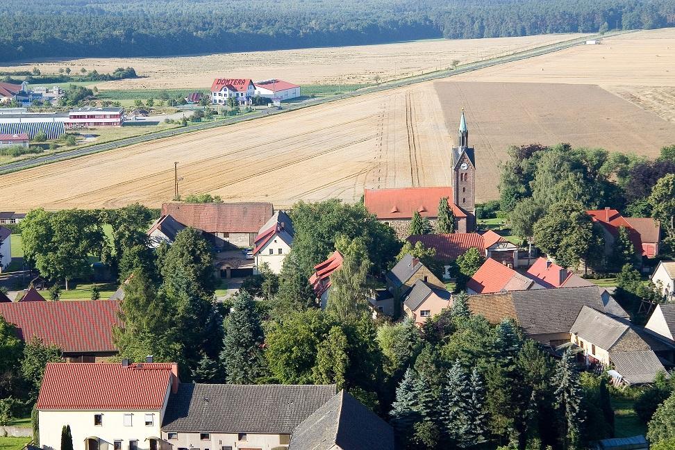 Söllichau - Luftaufnahme (Foto G. Obst)
