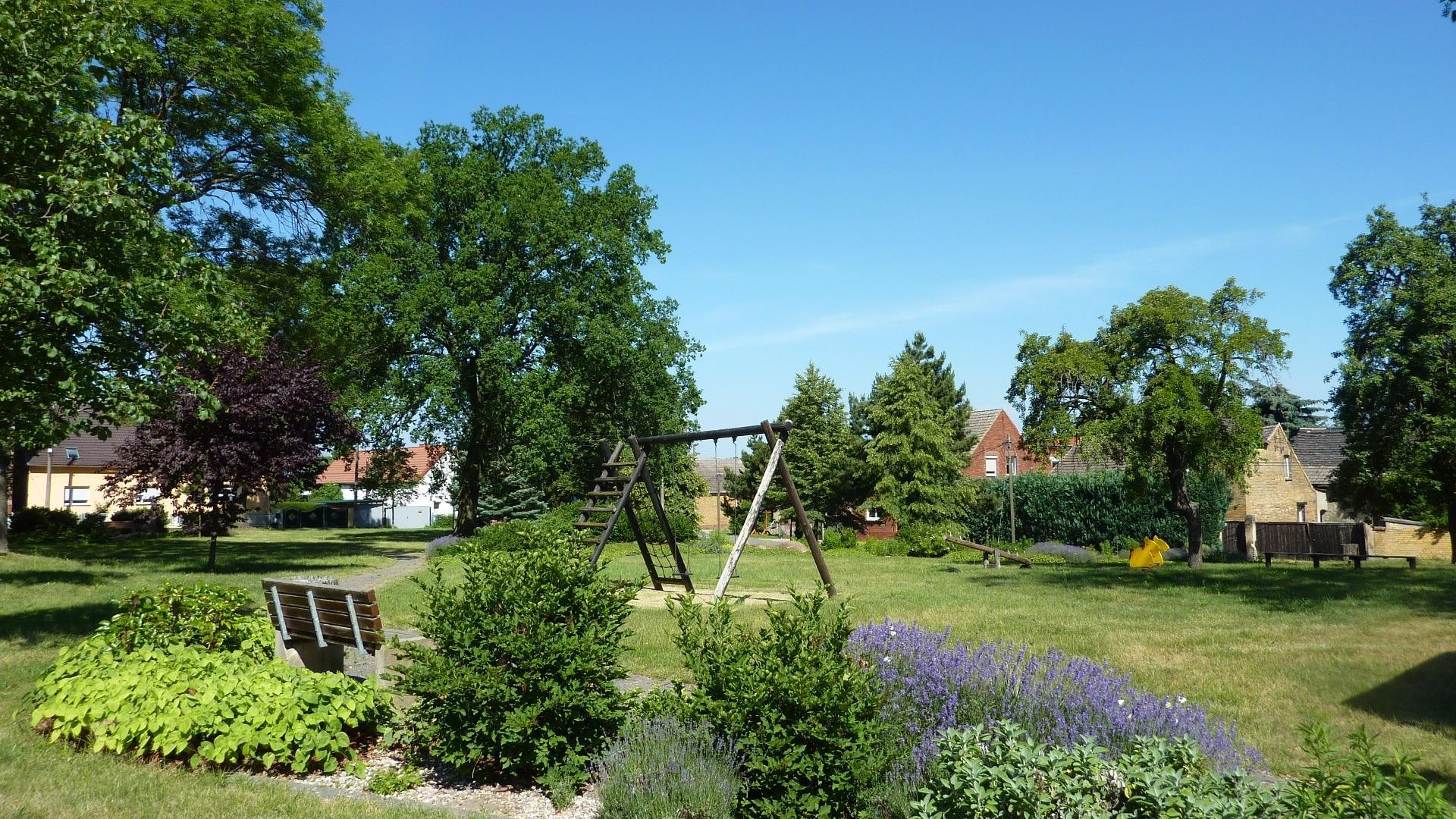 Österitz Spielplatz (Foto Stadtverwaltung)
