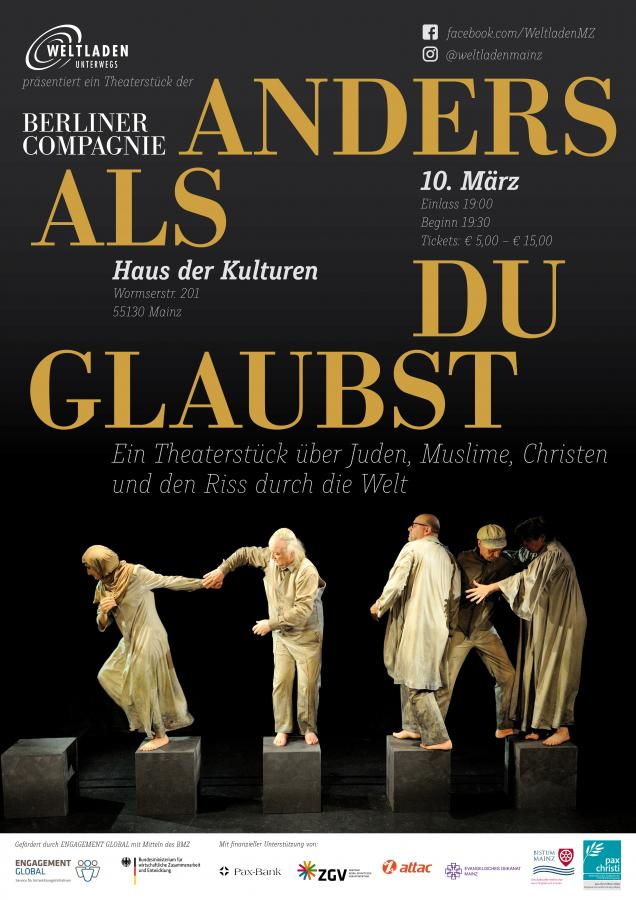 "Theater ""Anders als du glaubst"""