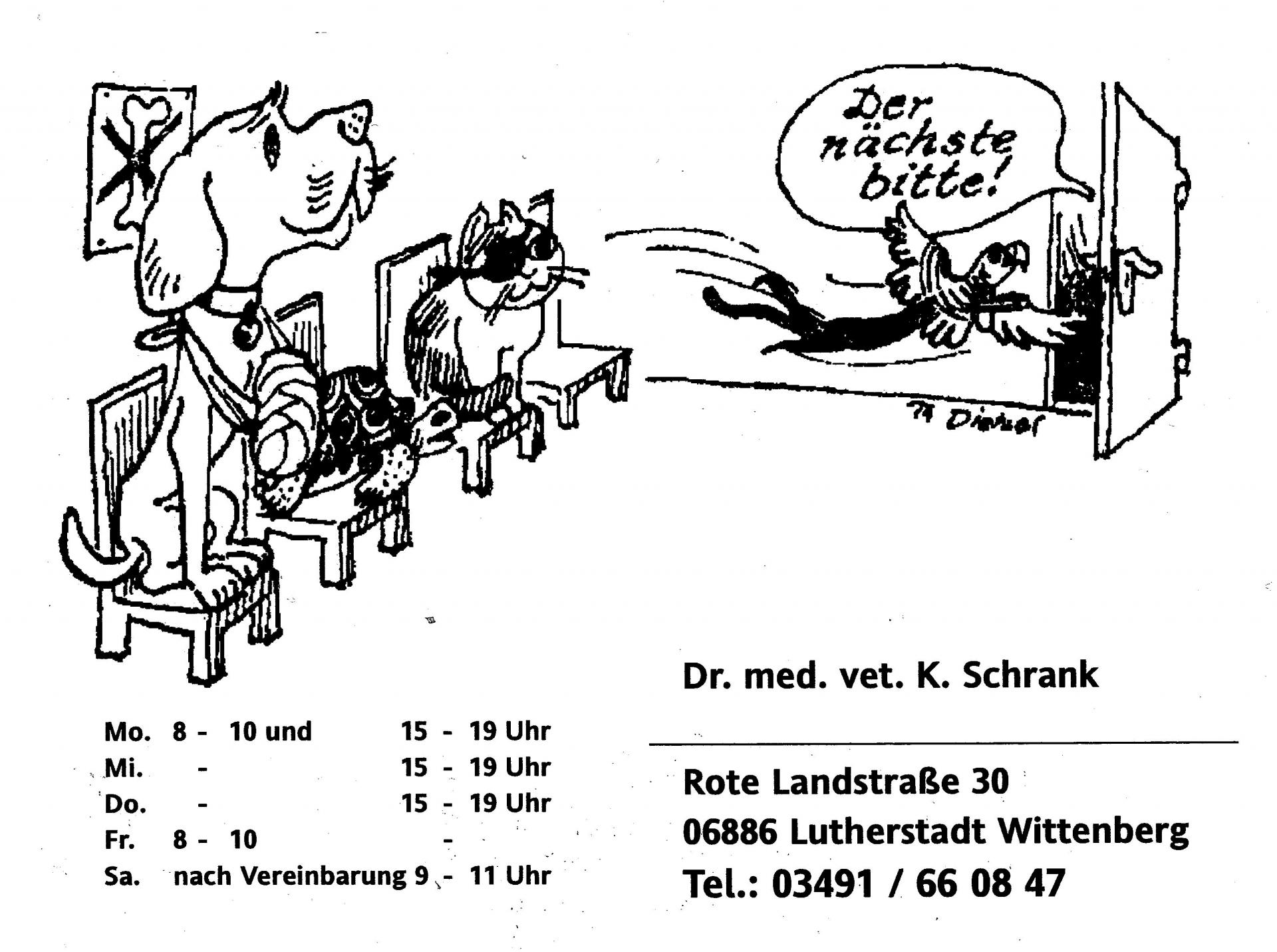 Tierarztpraxis Dr. Schrank