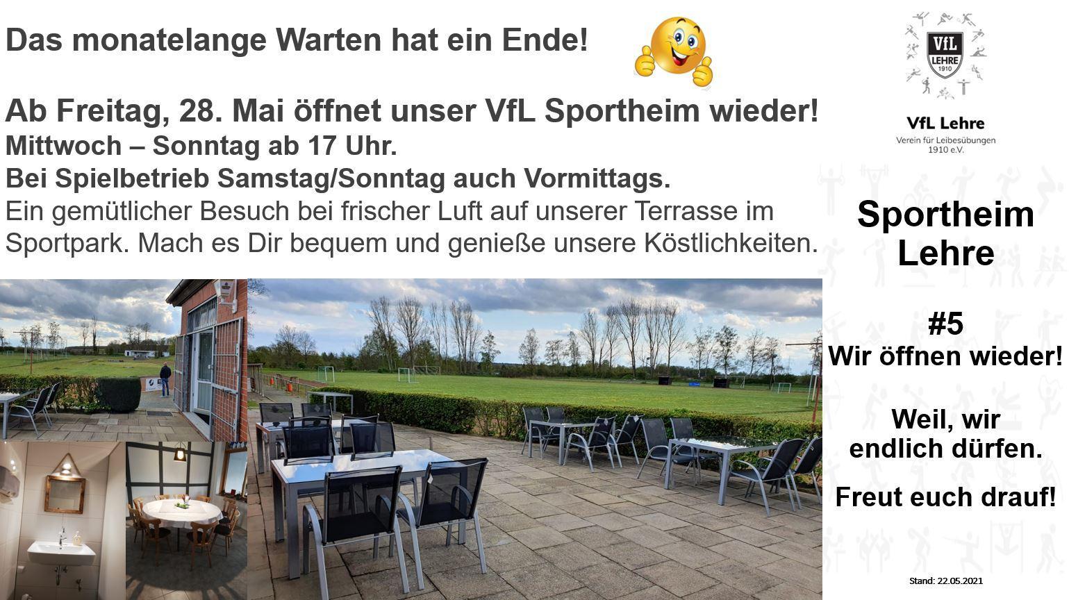 Eröffnung Sportheim