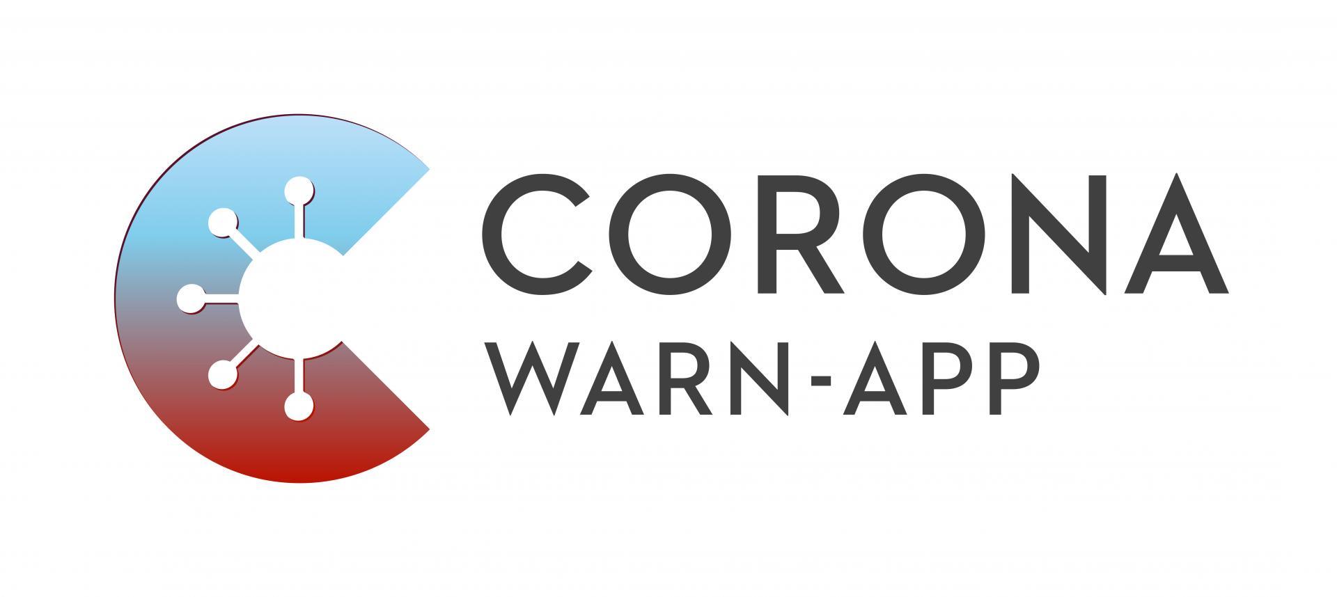 HEADER Corona-Warn-App, Logo Corona Warn-App im Header-Format