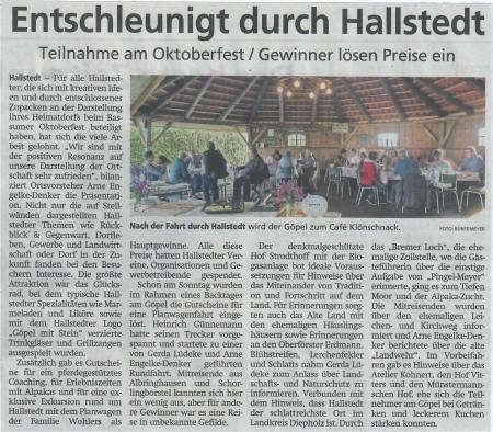 Kreiszeitung vom 16.10.2019
