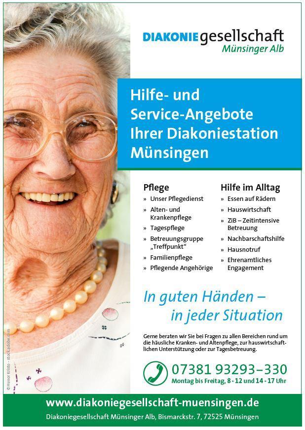 Flyer-Diakoniegesellschaft