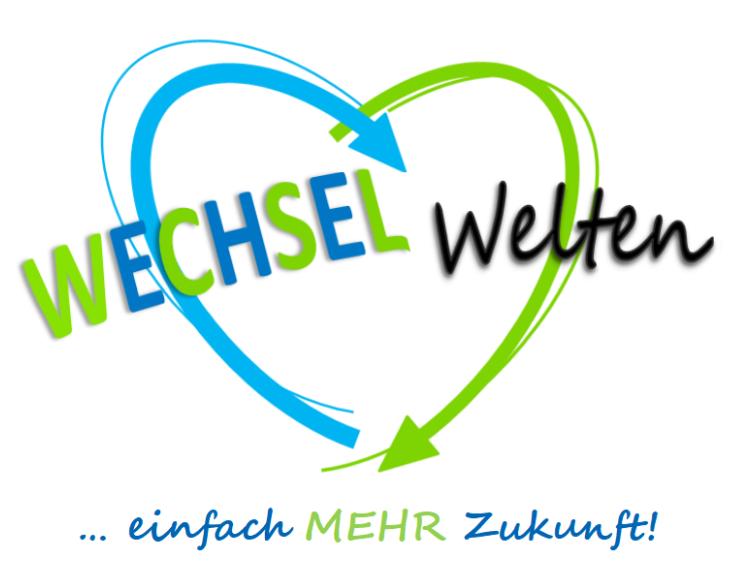 WechselWelten-Logo mit Untertitel