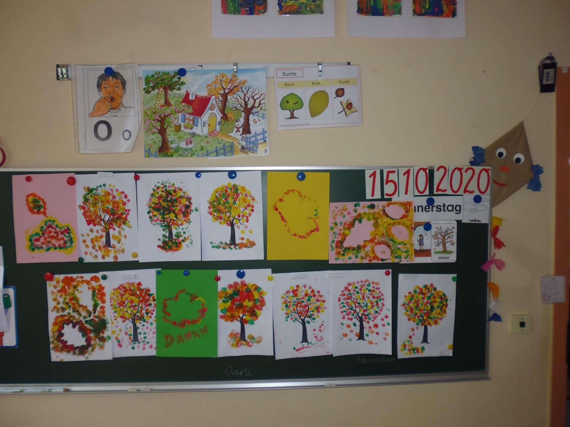 Klasse 3 Herbstprojekt