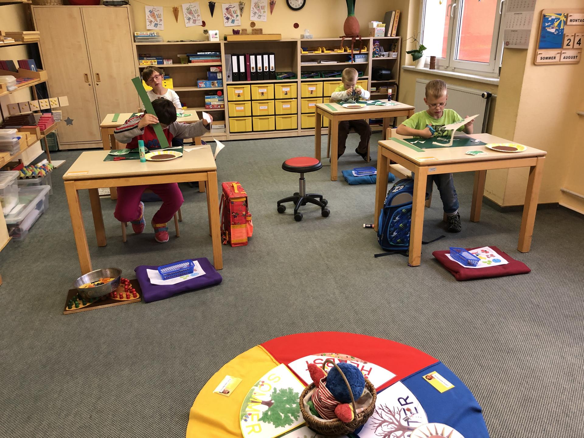 Einschulung und erste schulische Eindrücke