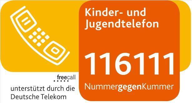 Nummer gegen Kummer - Kinder- und Jugendtelefon