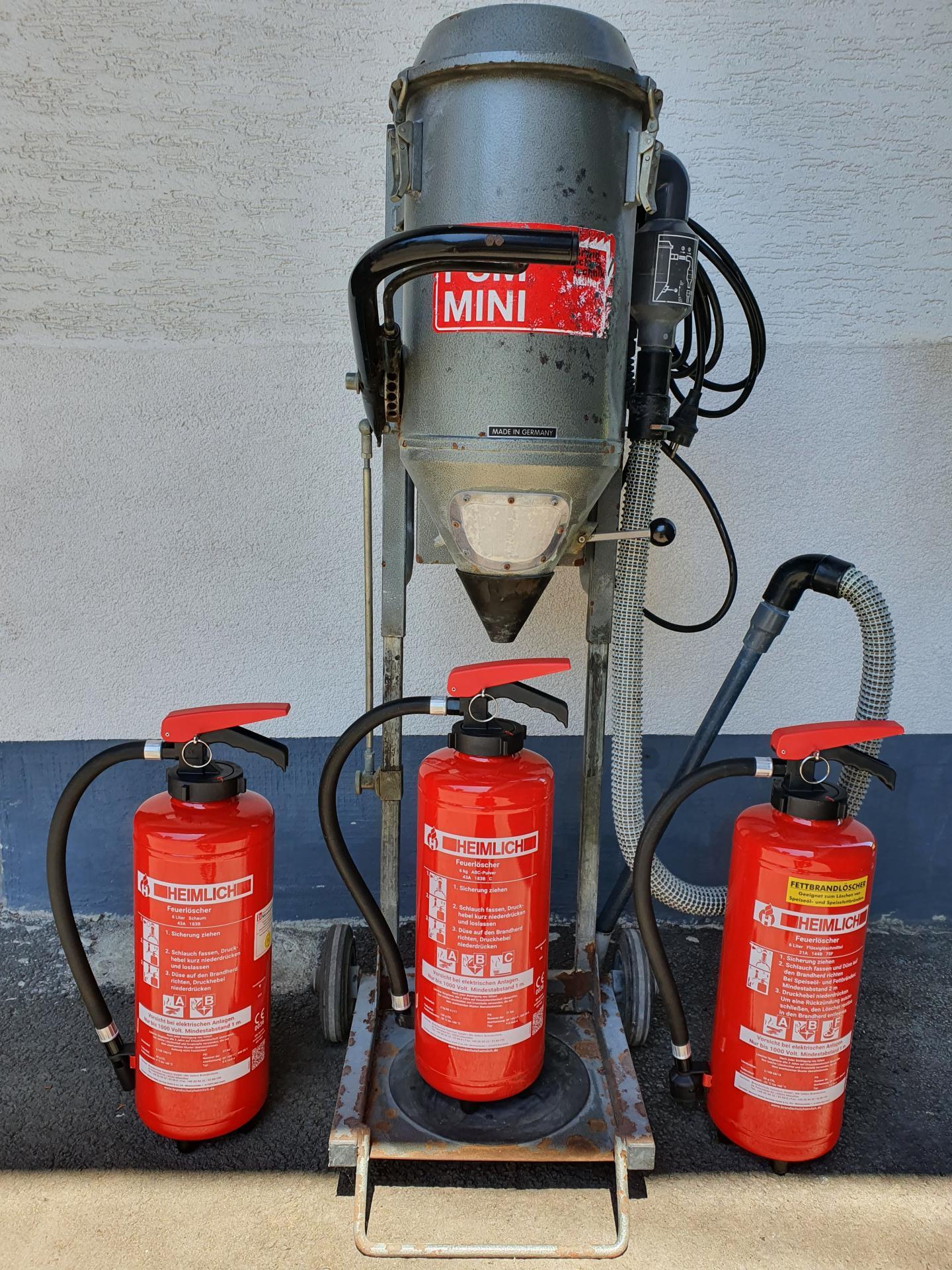 Neue Feuerlöscher ab 29.07.2020