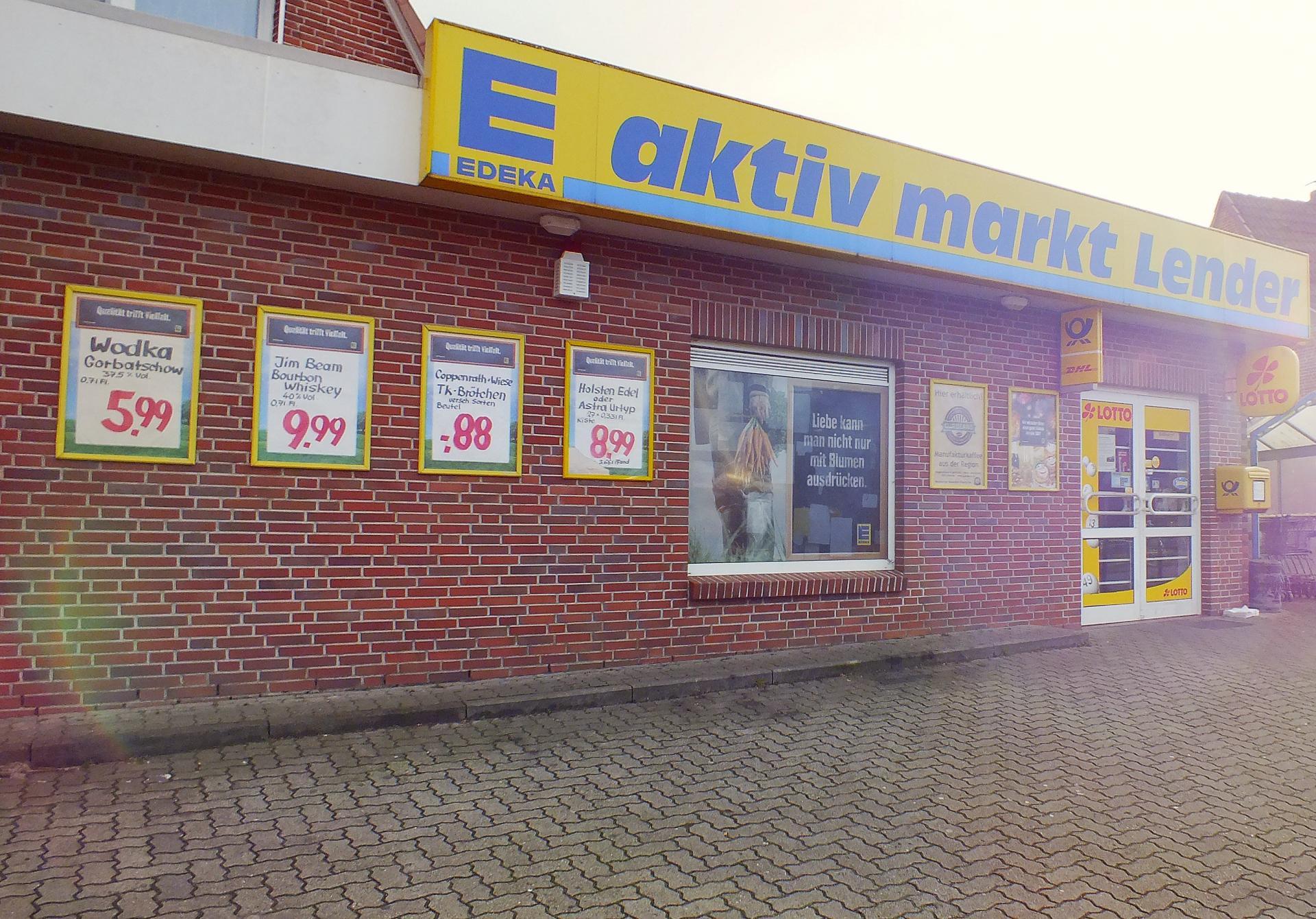 Edeka aktiv markt Lender