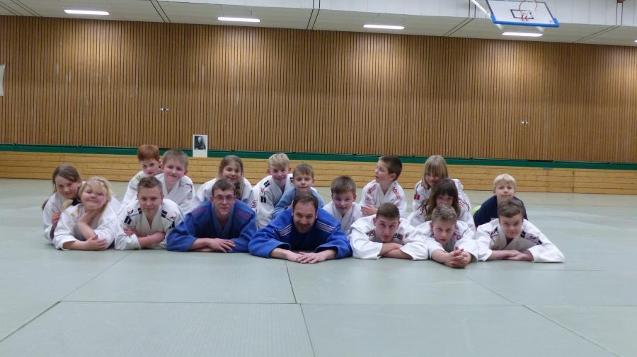 Judo Gruppenbild