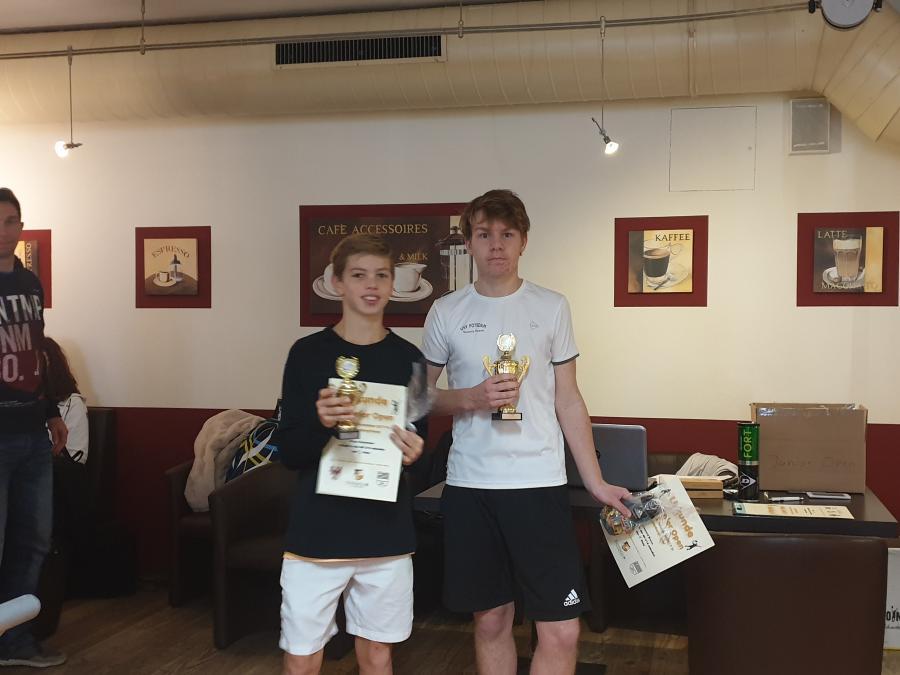 U18 Sieger und Platz 3