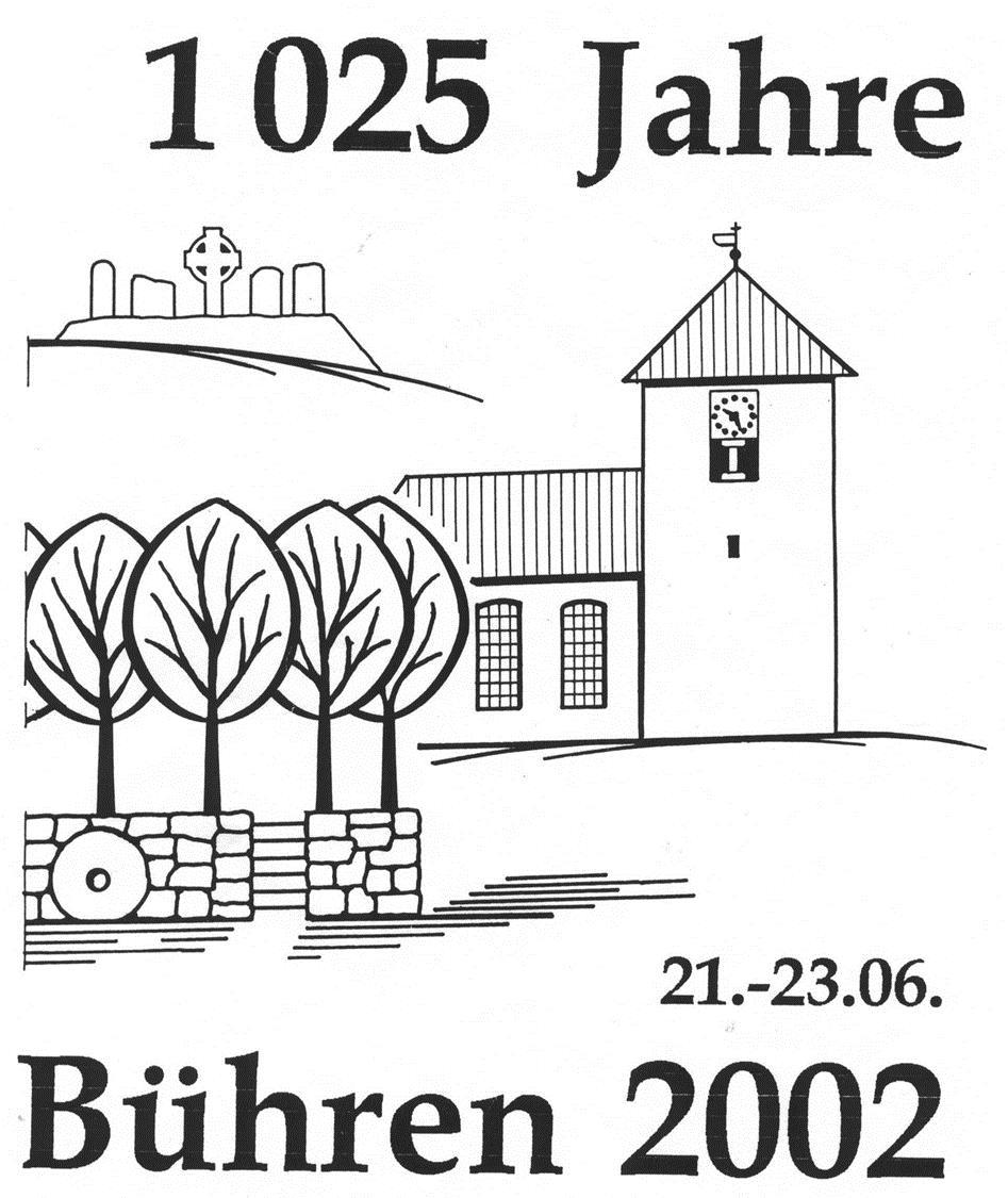 1025 Jahre Bühren