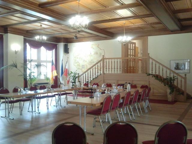 Blick in den Rathaussaal