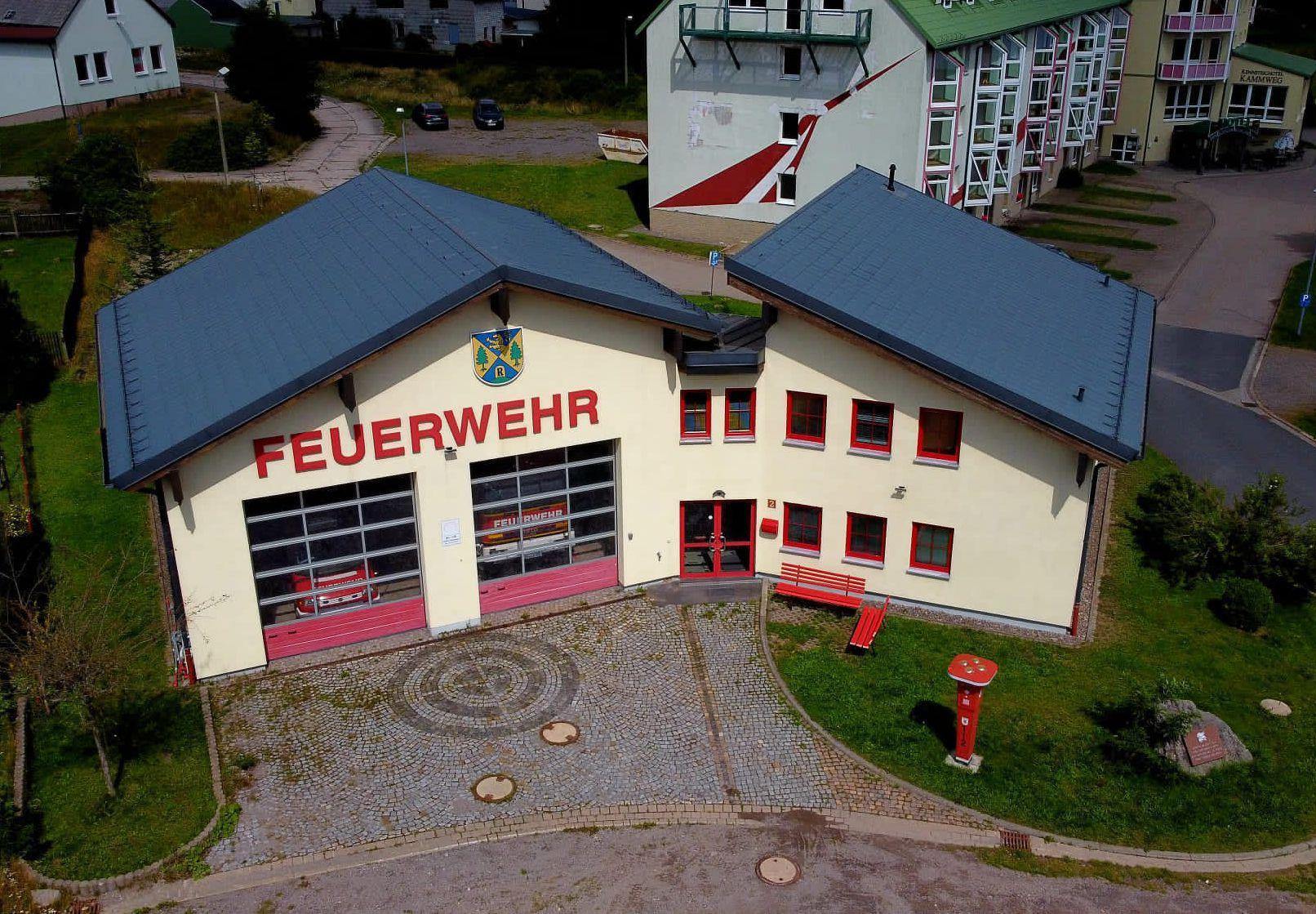 Feuerwehrgebäude Neustadt a. Rstg.