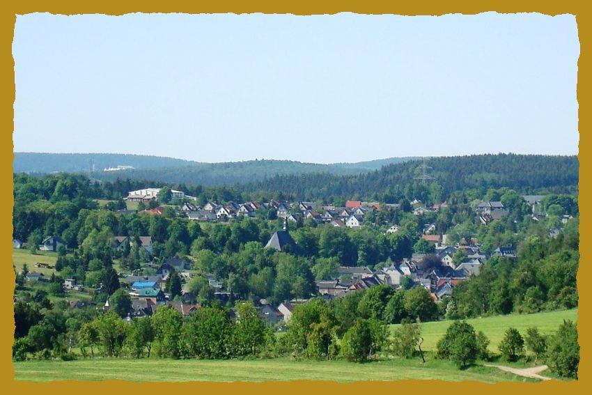 Blick auf den staatlich anerkannten Erholungsort Großbreitenbach