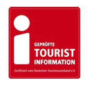 Zeichen der geprüften Tourist-Informationen