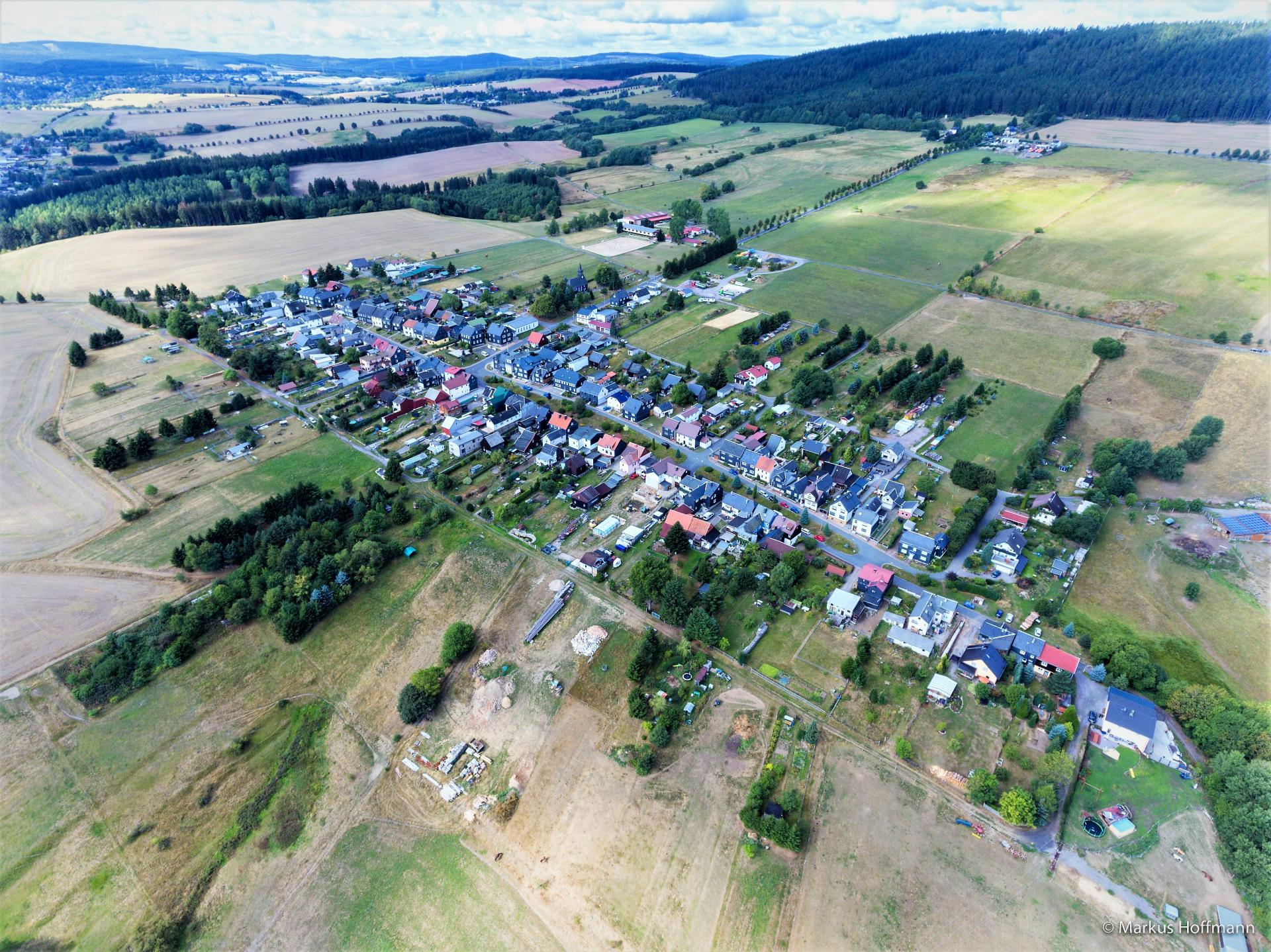 Luftaufnahme Willmersdorf 2018
