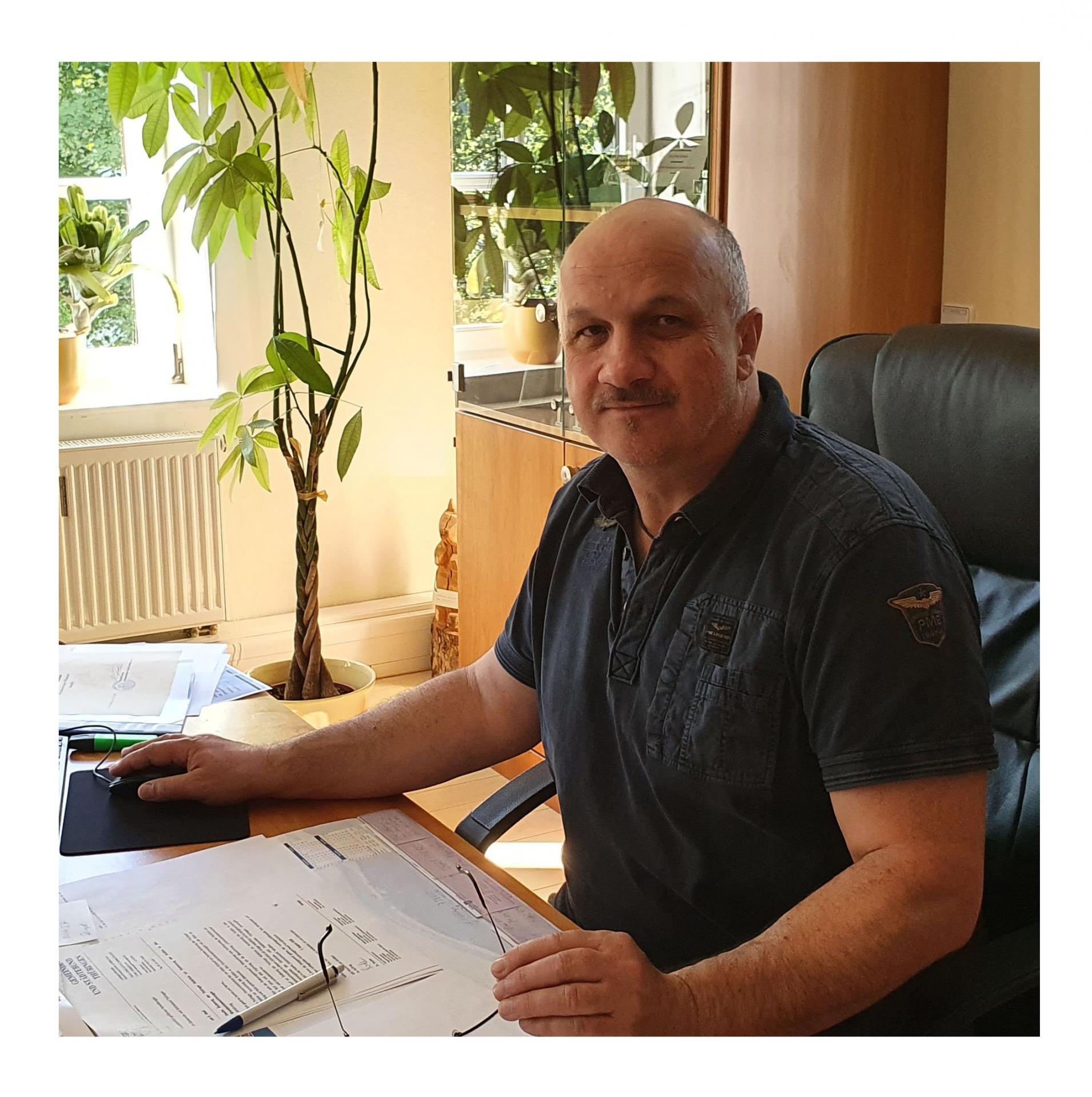 Bürgermeister Peter Grimm