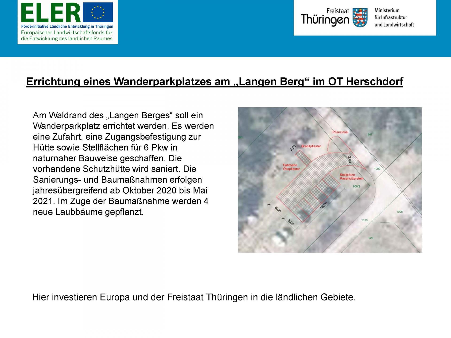 Wanderparkplatz Herschdorf