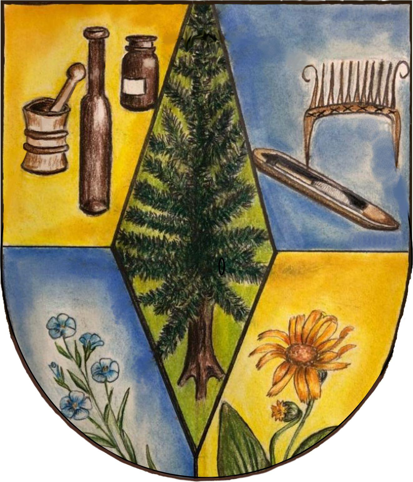 Wappen Allersdorf Wappenform