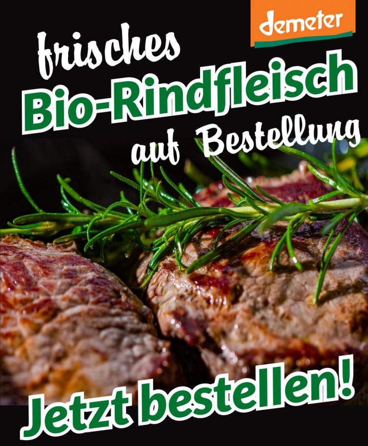 Bio Rindfleisch bestellen