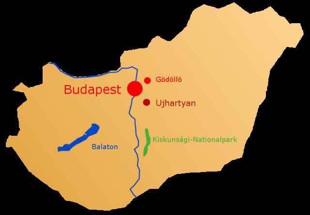 Lage Budapest