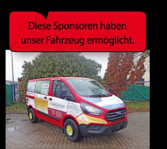 Sponsorenfahrzeug