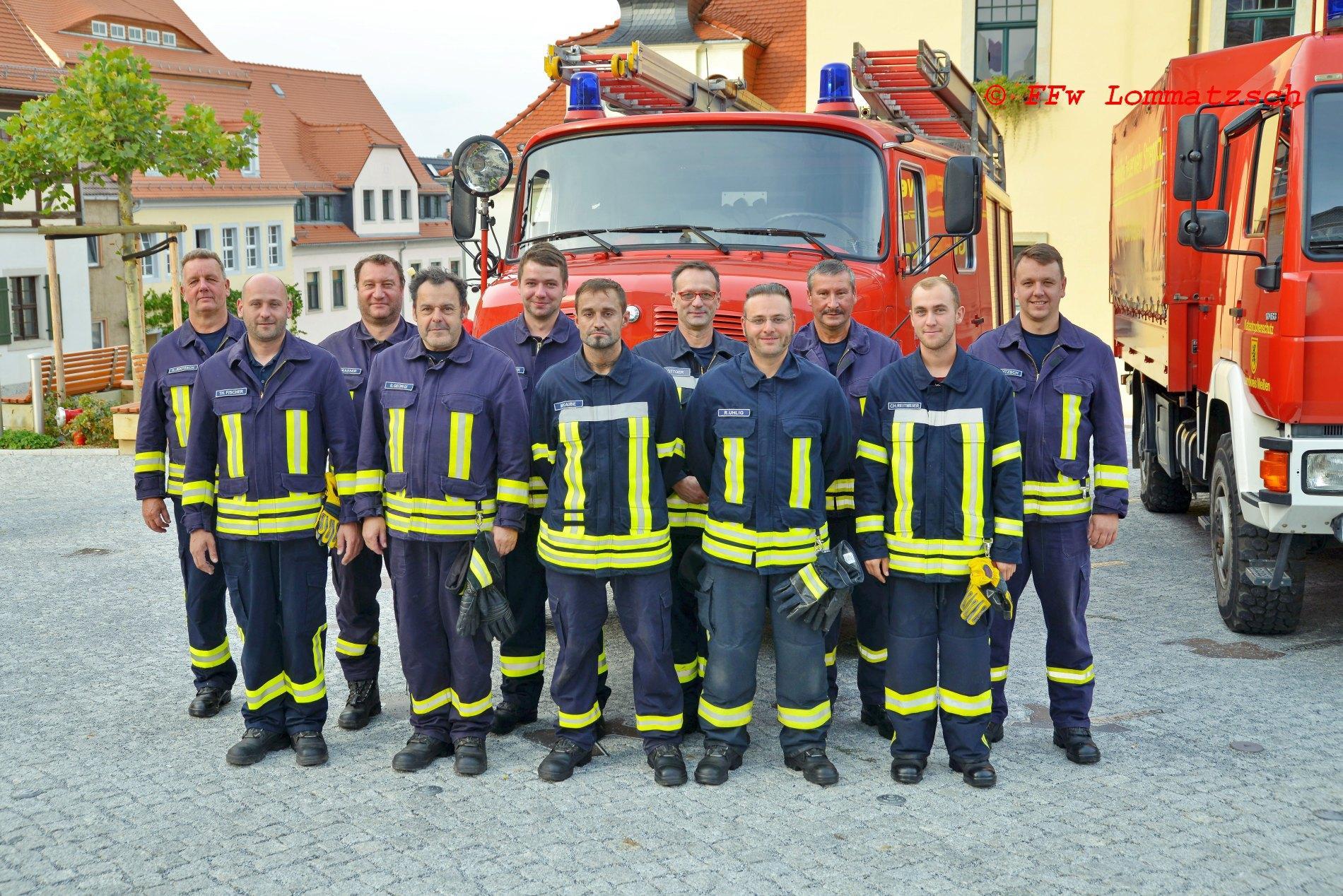 Manschaft FFw Wachtnitz 2020