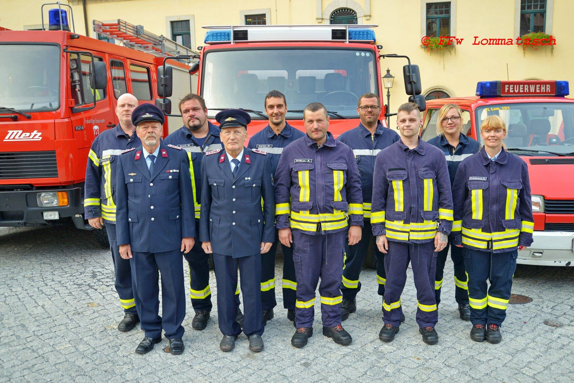 Mannschaft FFw Neckanitz 2020 + Kameraden Alters-/Ehrenabteilung