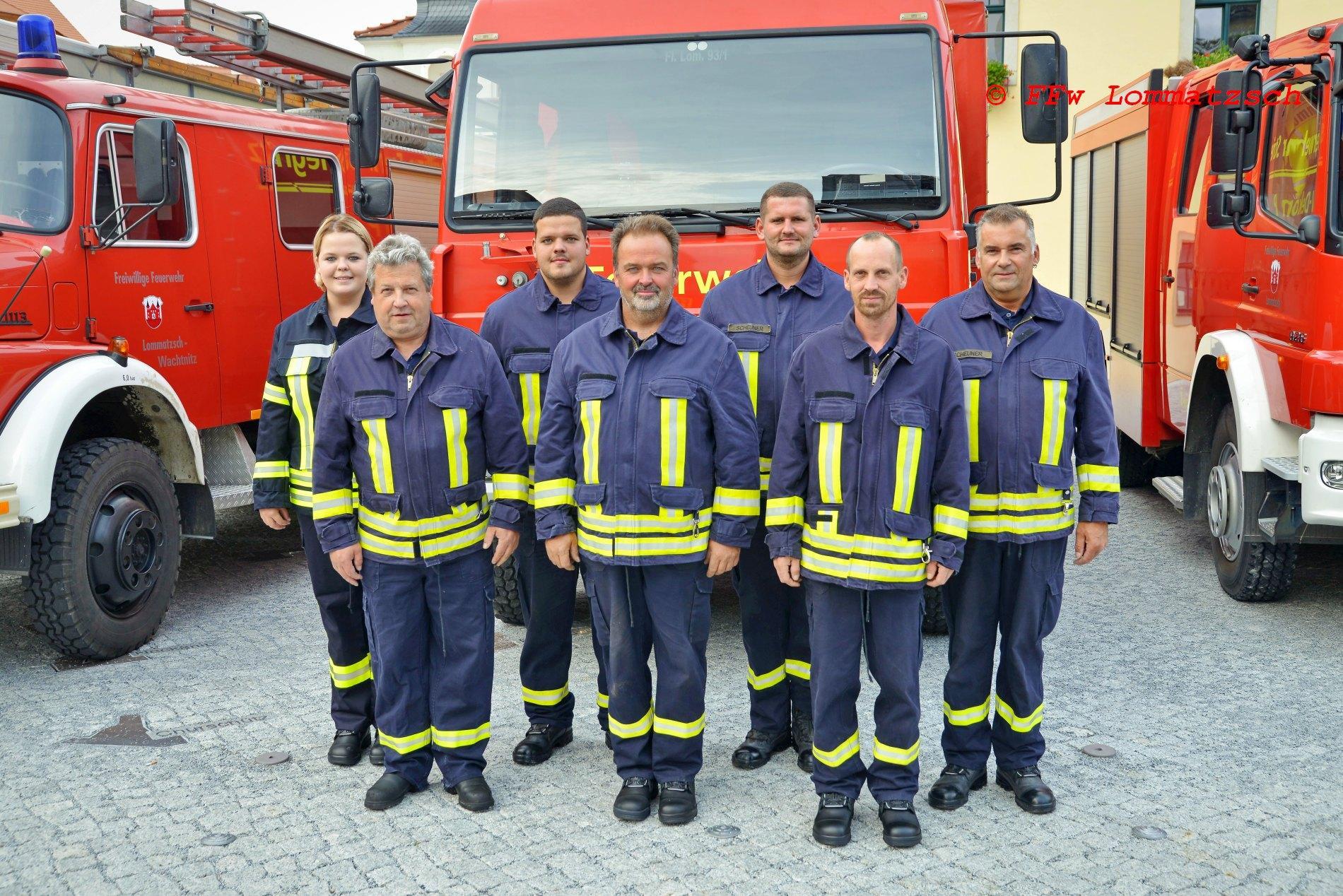 Mannschaft FFw Striegnitz 2020
