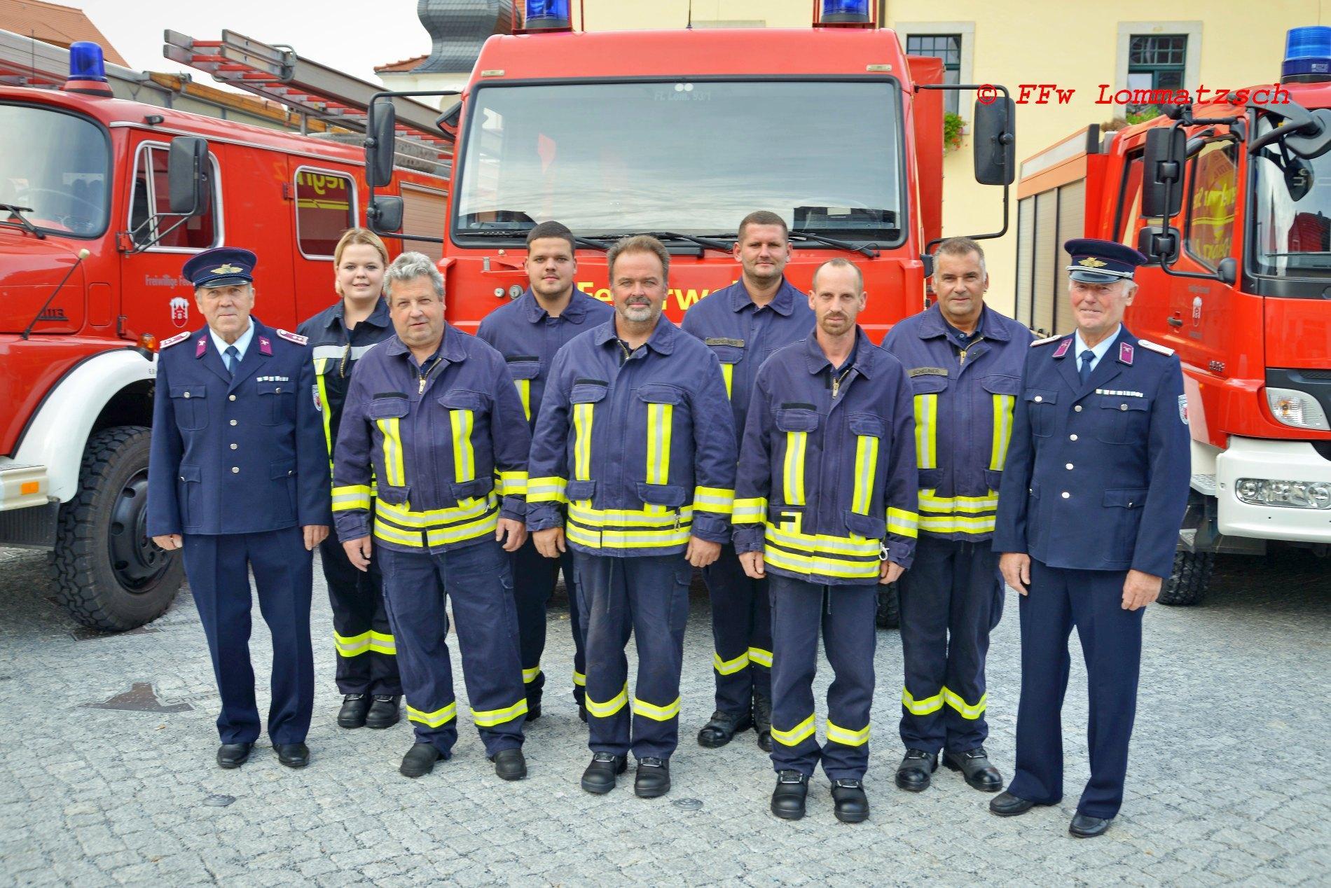 Mannschaft und Kameraden Alters-/Ehrenabteilung FFw Striegnitz 2020