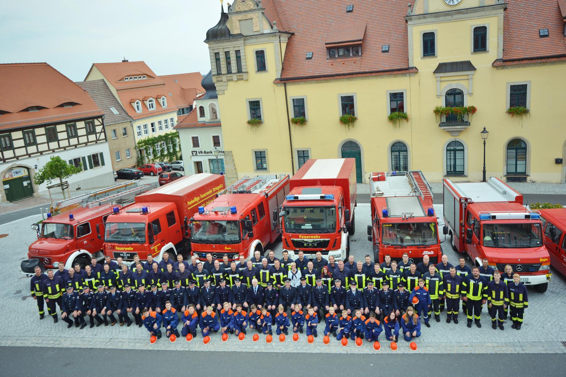 Stadtfeuerwehr Lommatzsch-Mannschaft