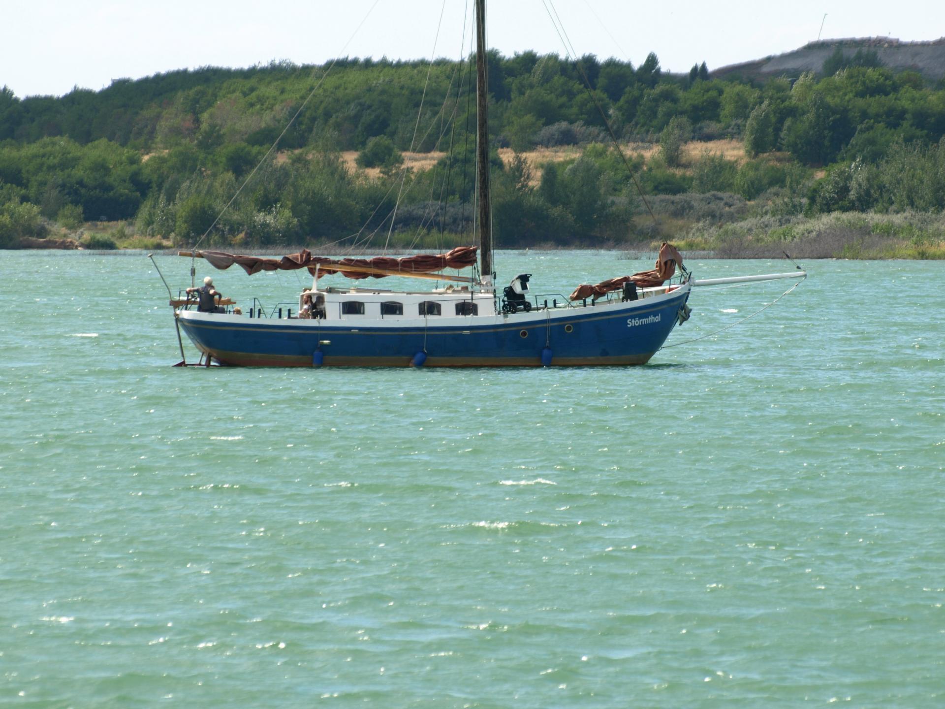 Schiff Störmthaler See