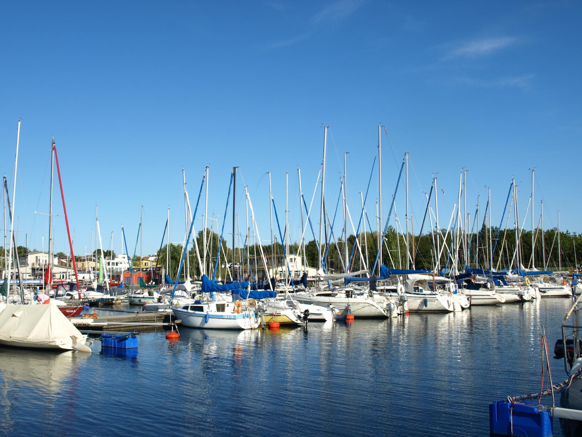 Zöbigker Hafen