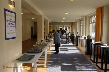 Ausstellungsraum - Keramikpreis Rheinsberg 2019