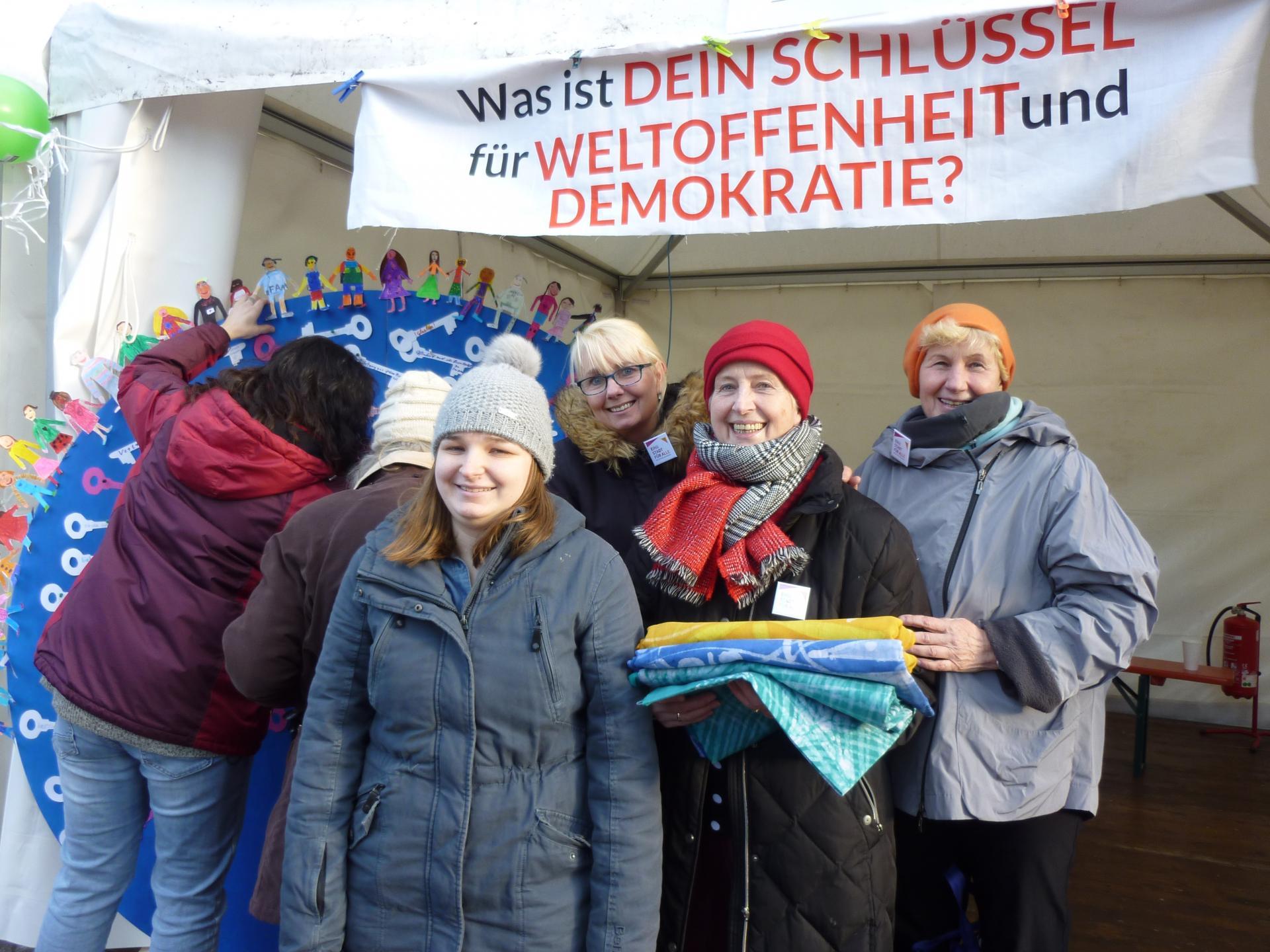 Schulen zeigen Courage am 18.1.2020 Breiter Weg