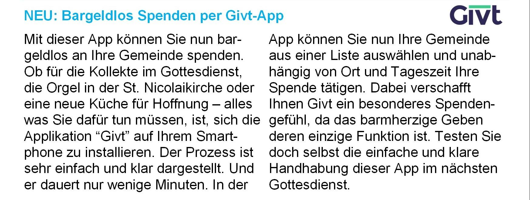 Givt-App