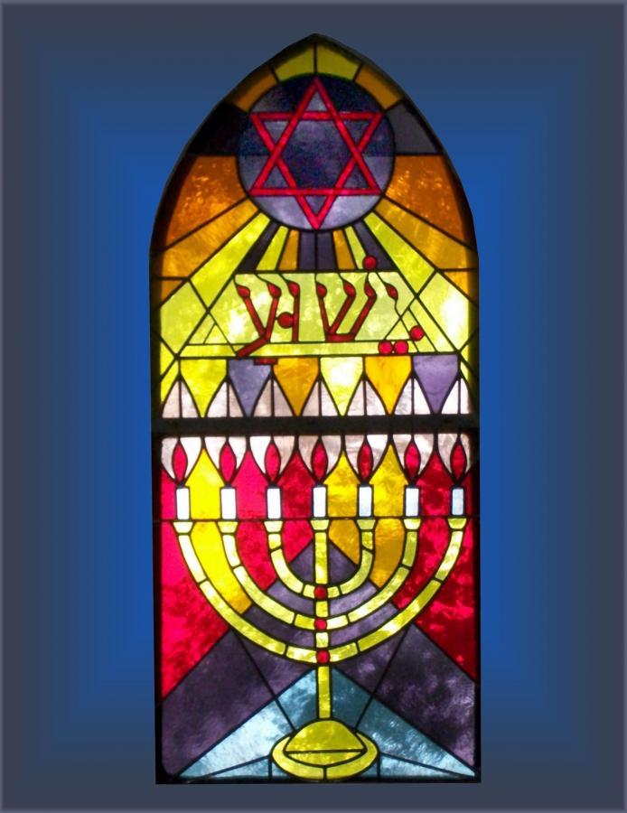Kirchenfenster der Reformationskirche
