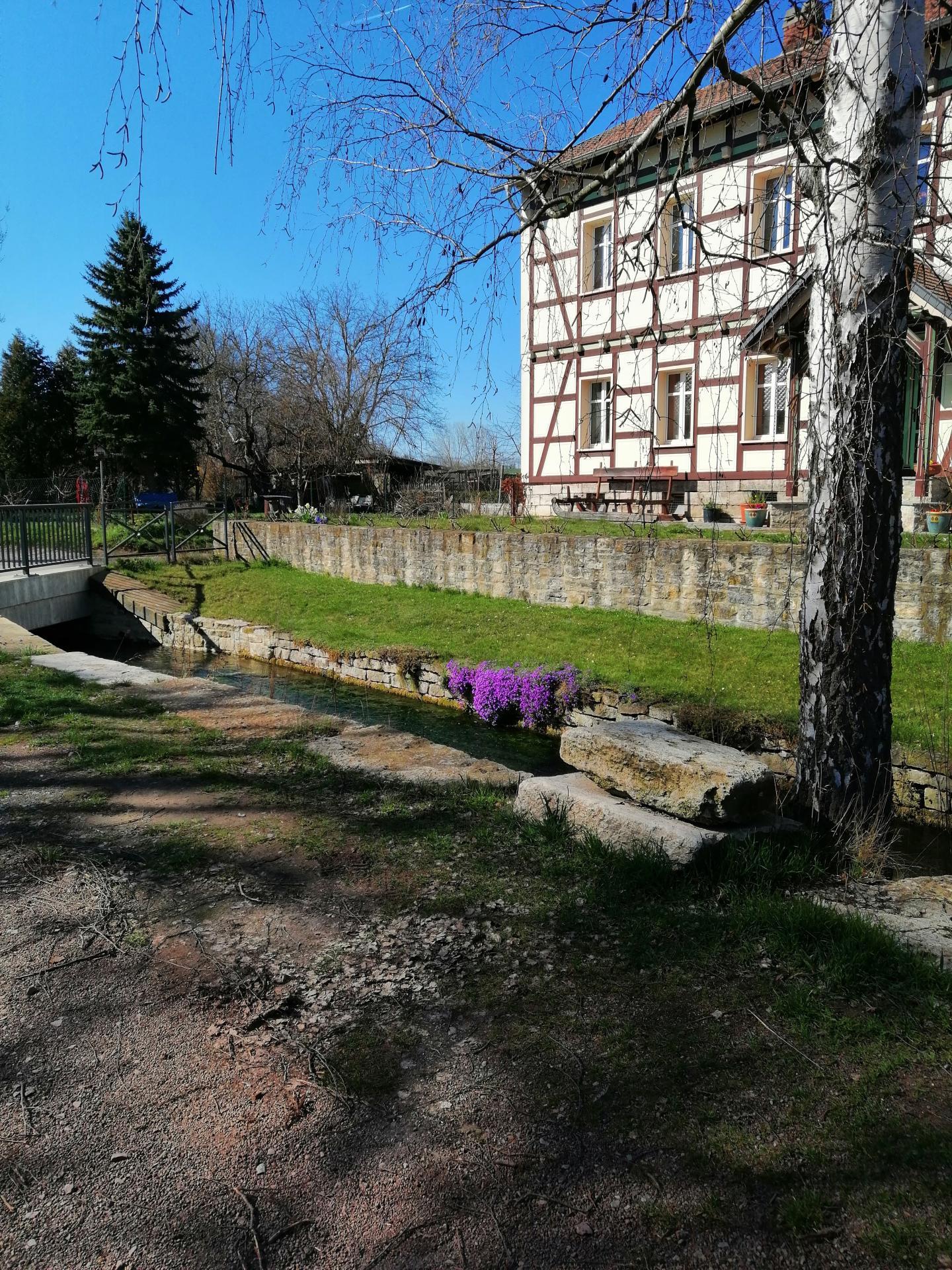 Klunkerbach in der Promenade