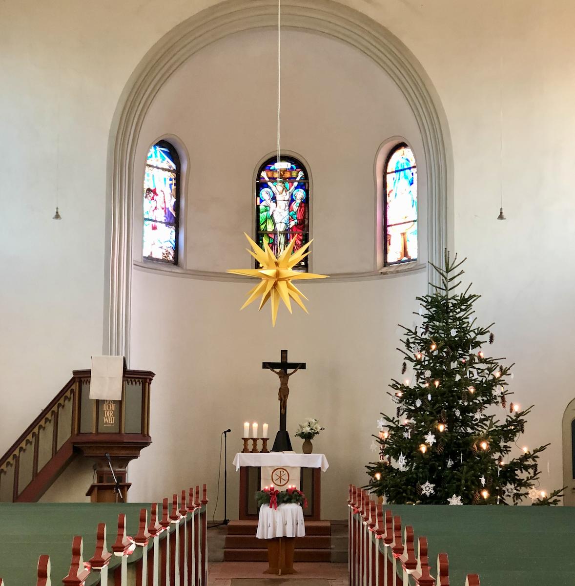 Weihnachtskirche Elster